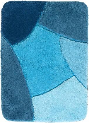 Коврик для ванной 60x90см синий Grund OLYMPUS 735.14.116