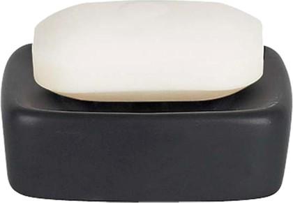 Мыльница керамическая чёрная Spirella Retro 1008078