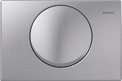 Кнопка смывная для инсталляции металлическая, нержавеющая сталь Geberit Mambo 115.751.00.1
