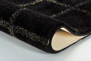 Коврик для ванной Kleine Wolke Grid 60x100см, чёрно-золотой 9112919360