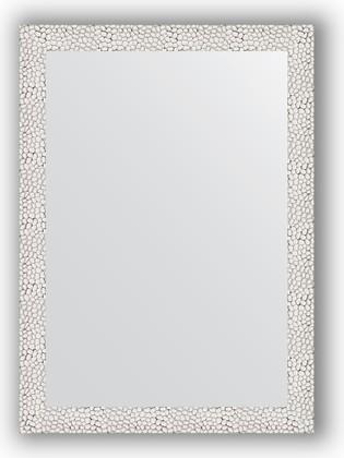 Зеркало в багетной раме 51x71см чеканка белая 46мм Evoform BY 3034