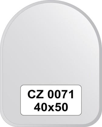 Зеркало для ванной 40x50см с фацетом 10мм FBS CZ 0071