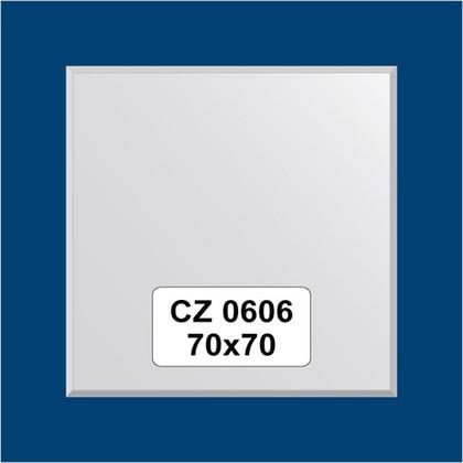 Зеркало для ванной на цветном основании 70x70см FBS CZ 0606