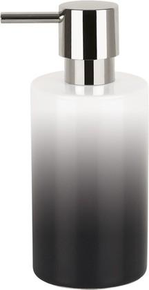 Ёмкость для жидкого мыла фарфоровая чёрная Spirella TUBE GRADIENT 1017953