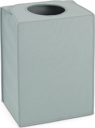 Сумка для белья прямоугольная 55л серая Brabantia 104282