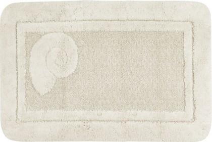 Коврик для ванной 60x90см натуральный Spirella Escargot 1041085