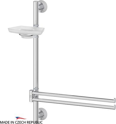 Стойка с аксессуарами для ванной настенная FBS VIZOVICE VIZ 077+UNI 029,036