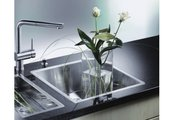 Кухонная мойка без крыла, нержавеющая сталь зеркальной полировки Blanco Claron 340-IF 517210