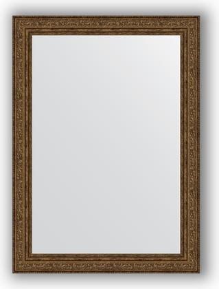 Зеркало в багетной раме 54x74см виньетка состаренная бронза 56мм Evoform BY 3041