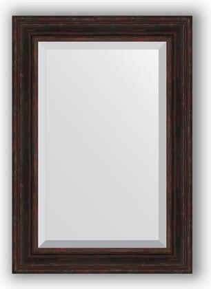 Зеркало с фацетом в багетной раме 69x99см темный прованс 99мм Evoform BY 3447