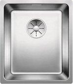 Кухонная мойка Blanco Andano 340-U, отводная арматура, полированная сталь 522955