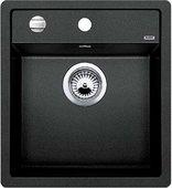 Кухонная мойка Blanco Dalago 5, без крыла, с клапаном-автоматом, гранит, антрацит 518521