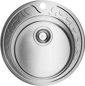 Кухонная мойка Omoikiri Tovada 49-1-IN без крыла, нержавеющая сталь матовой полировки 4993006