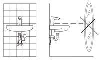 Смеситель для раковины бесконтактный, хром Oras CUBISTA 2814F