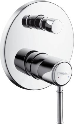 Наружная часть смесителя для ванны с переключателем (к ibox universal), хром Hansgrohe Talis Classic 14145000