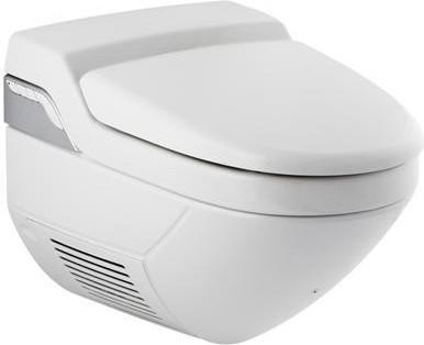 Подвесной белый унитаз-биде с дистанционным ПУ Geberit AquaClean 8000plus 180.100.11.2
