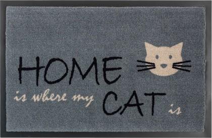 Коврик придверный Golze Homelike Home Cat, 40x60, серый 1676-15-45
