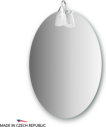 Зеркало со светильником 50x70см Ellux CLA-A1 0029