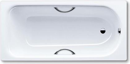 Ванна стальная 170x70см с отверстиями для ручек, Perl-Effekt, Antislip Kaldewei SANIFORM PLUS STAR 335 1335.3000.3001
