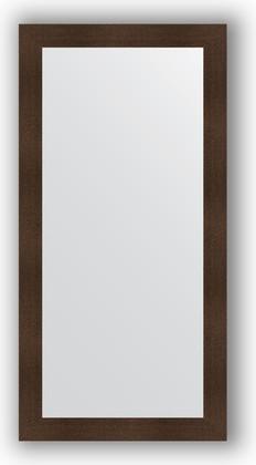 Зеркало в багетной раме 80x160см бронзовая лава 90мм Evoform BY 3344