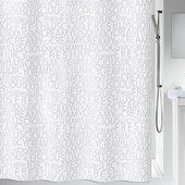 Штора для ванной Spirella Creamy, 180x200см, текстиль, серебристый 1016276