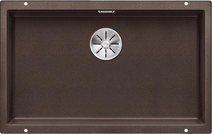 Кухонная мойка Blanco Subline 700-U, отводная арматура, кофе 523451