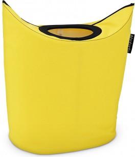 Сумка для белья 55л лимонно-жёлтая Brabantia 101120