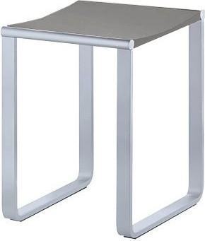 Стульчик для ванной, хром/светло-серый Keuco Plan 14982010038