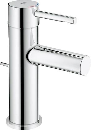 Смеситель однорычажный с донным клапаном для раковины, хром Grohe ESSENCE 32898000