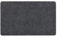 Коврик придверный 40x60см промежуточный серый, полипропилен Golze Rib Line Trend 481-15-40