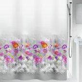 Штора для ванной Spirella Abella, 180x200см, текстиль, серый 1019149