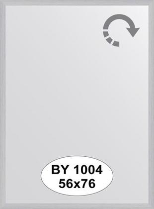 Зеркало 56x76см в багетной раме сталь Evoform BY 1004