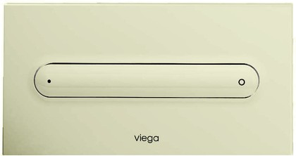 Кнопка смыва для унитаза пластиковая, пергамон / камея Viega Visign for Style 11 597122