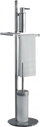 Стойка с аксессуарами для ванной и туалета поворотная 880мм, хром Colombo PLANETS B9849.000