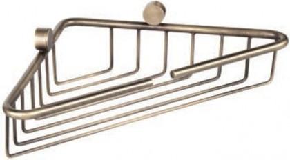 Полочка-решетка угловая 21x21x5см, бронза TW Bristol TWBR534br