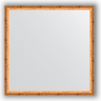Зеркало 70x70см в багетной раме красная бронза Evoform BY 0664