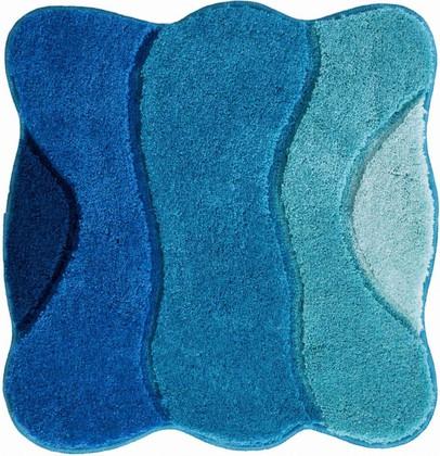 Коврик для ванной 60x60см, синий-бирюзовый Grund Curts b2570-64143
