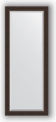 Зеркало 56x141см с фацетом 25мм в багетной раме палисандр Evoform BY 1164