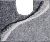 Коврик для туалета 50x60см серый Grund Luca b3742-006001096