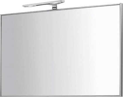 Зеркало в раме 90x53см с LED светильником Colombo GALLERY B2060