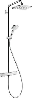 Душевая стойка Hansgrohe Croma E Showerpipe 280 1jet с термостатом для душа, хром 27630000