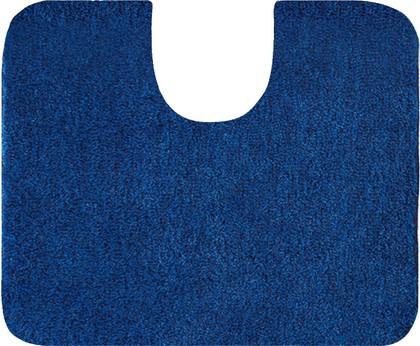 Коврик с вырезом под туалет 60x50см тёмно-синий Grund Lex 2622.06.4247