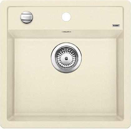 Кухонная мойка без крыла, с клапаном-автоматом, гранит, жасмин Blanco DALAGO 5 518525