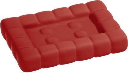 Мыльница красная Wenko Cube 20448100