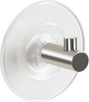 Декоративный крючок на присоске стальной Spirella SUKI 1013741