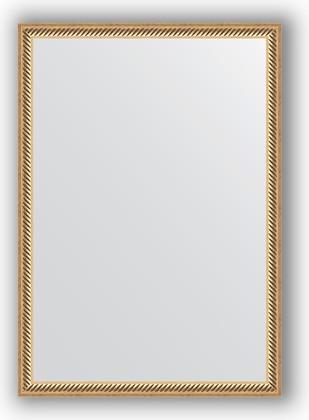 Зеркало 48x68см в багетной раме витое золото Evoform BY 0623