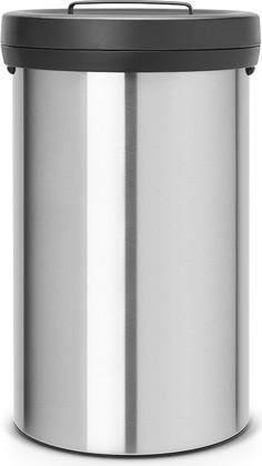 Мусорный бак 60л стальной матовый Brabantia Big Bin 402043