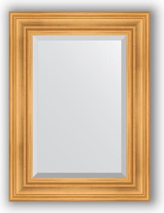 Зеркало с фацетом в багетной раме 59x79см травленое золото 99мм Evoform BY 3392