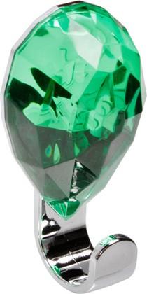 Крючок самоклеящийся зелёный Spirella JEWEL 1010670