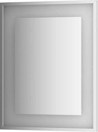 Зеркало Evoform Ledside 600x750 в багетной раме со встроенным LED-светильником 18Вт, хром BY 2201